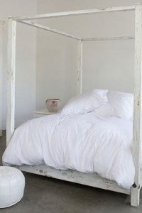 himmelsang bed white poster