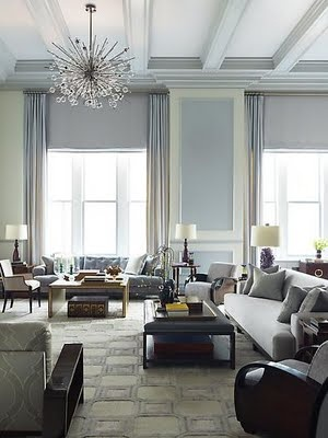 Steven Gambrel's living room