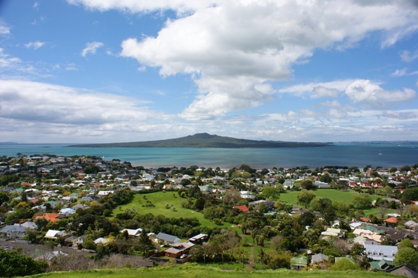 Rangitoto Island (an extinct volcano), Auckland CIty