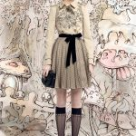 A fashion fairy from RED Valentino