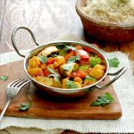 Vegetarisk curry- fattigmansgryta