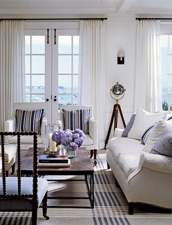 5 new england tips f r ert vardagsrum inredningsvis for Beach house design jeffrey strnad