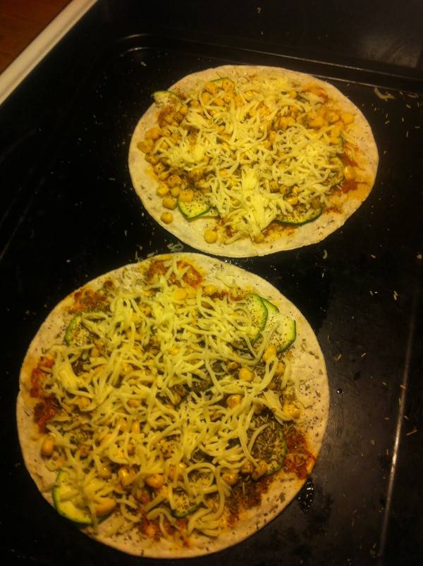 glutenfri pizza recept