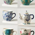 Colorful teacups with spring vibes from Indiska