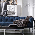 Decor trend – Get seduced by sexy blue velvet decor