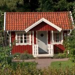A Swedish Classic: Little red cottage