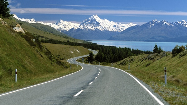 19 Southern Alps New Zealand