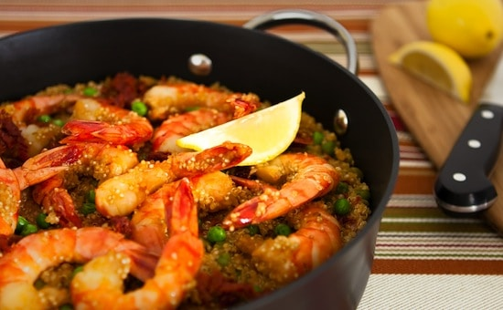shrimp-with-quinoa