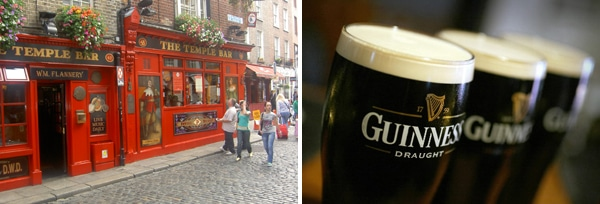 14 guiness temple bar