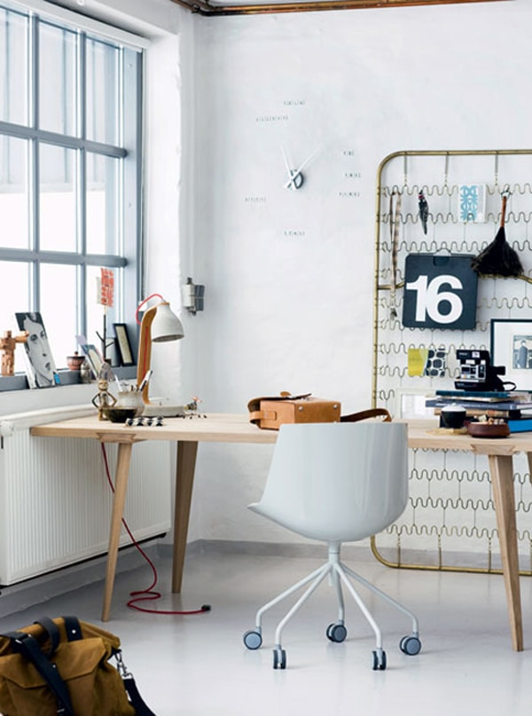 Office Decor 7 Tips For A Hotter Working Autmn Inredningsvis