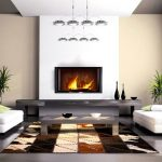 Trendy cowhide patchwork rugs from Etnodesign