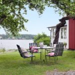Rustic Swedish Summer cottage gets new lease of life