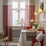10 cute Christmas curtains on a budget